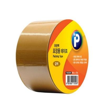 P4820BR 포장용 테이프(갈색 48mmx20m 1ea)