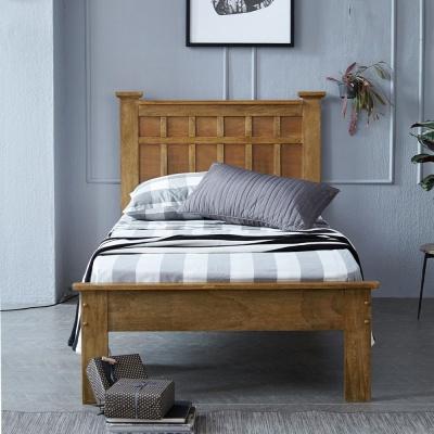 [리비니아]로맨틱 핀란드 원목 철제 원룸 기숙사 침대