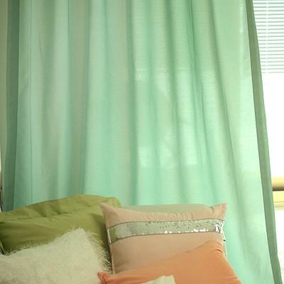 sweet april blue curtain