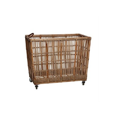 [Hubsch]Storage cart, nature, large 538001 이동식수납장