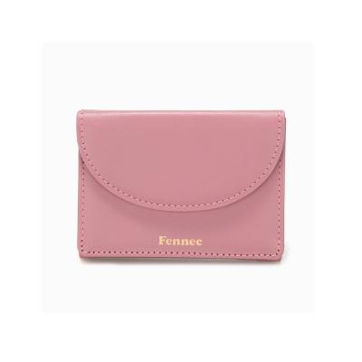 Fennec Halfmoon Mini Wallet 미니월렛 003 Rose Pink