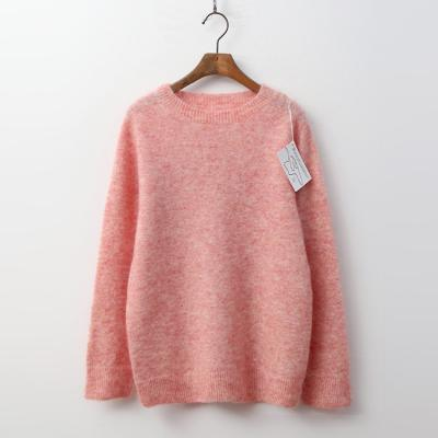 Laine Super Mohair Wool Round Sweater
