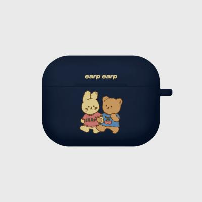 nini friends-navy(Air pods pro case)