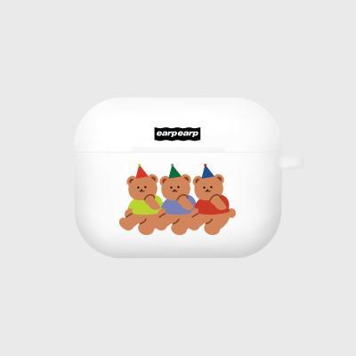 Happy birthday-white(Air pods pro case)