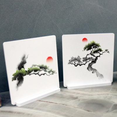 bf023-스탠드액자2P_해와소나무1
