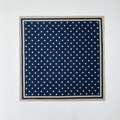 Autumn Dot And Square Scarf