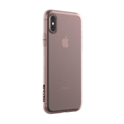 Protective Clear Cover for iPhone Xs Rose Gold