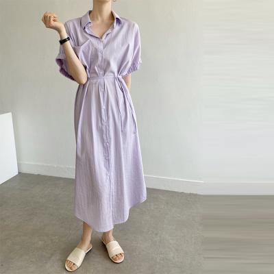 Rebecca Shirts Long Dress