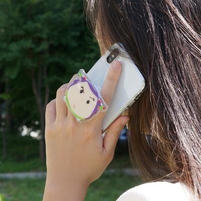 정품 디즈니 캐릭터 스마트톡 핑거그립 핸드폰 거치대