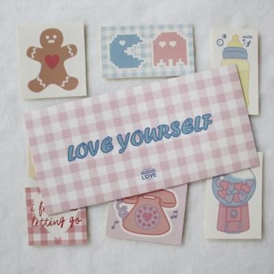 Loveyourself 스티커팩