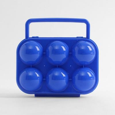 캠핑랜드 휴대용 6구 계란케이스/ 에그홀더