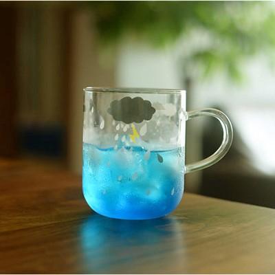Weather Glass Mug 유리머그컵 350ml