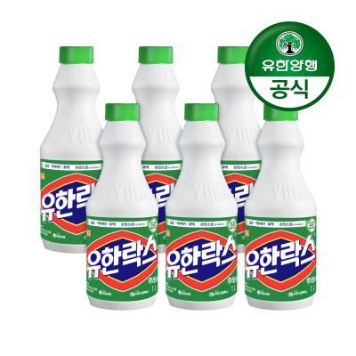 [유한양행]유한락스 후레쉬 1L 6개