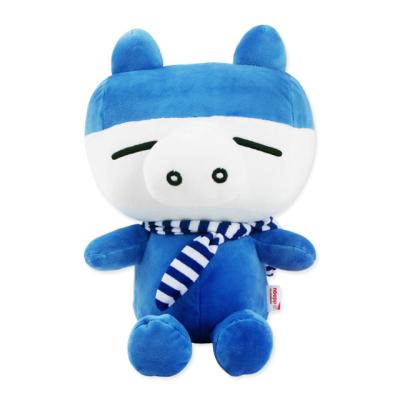 따구 돼지인형-블루