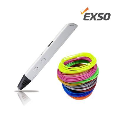 EXSO 엑소 LEDGO-3D펜+PLA필라멘트15색 set