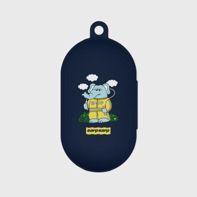 jumping kkikki-navy(buds jelly case)