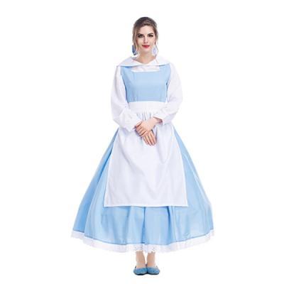 미녀와야수 벨 하녀복 드레스 옷 의상 코스프레 2size