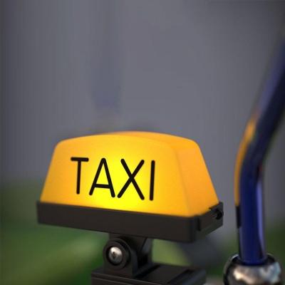 홍콩택시 TAXI 오토바이 바이크 택시 LED라이트
