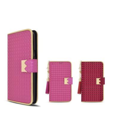 하트 태슬 패션 다이어리 왕관케이스(LG G6)