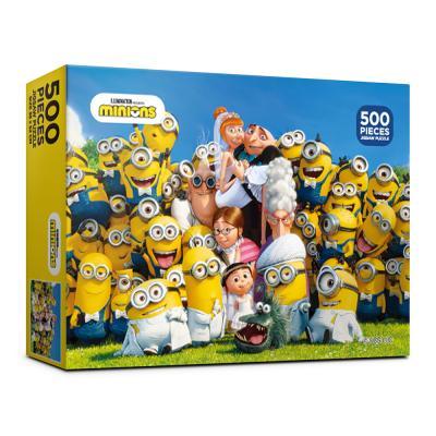 500피스 미니언즈 즐거운 결혼식 직소퍼즐 AL5301