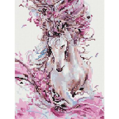 아름다운 말 (캔버스형) 보석십자수 30x40