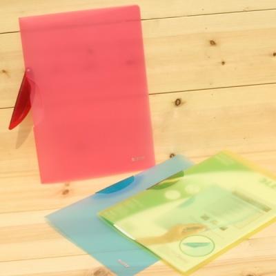 [Leitz] 30매 지철 클립홀더-독일 라이츠 Color Clip File Rainbow 4176 HC30-18
