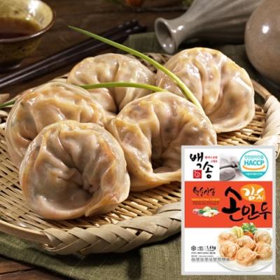 [백송만두] 손맛 그대로 김치손만두 1.4kgx4봉