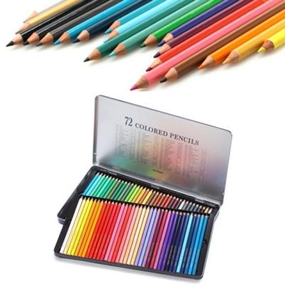 문화 72색 틴 색연필