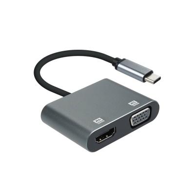 C타입 to HDMI VGA 변환 컨버터 / 4K 영상 LCFW585