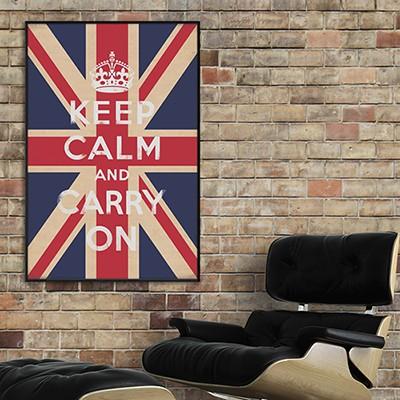 Keep Calm 아트포스터 - 60x90