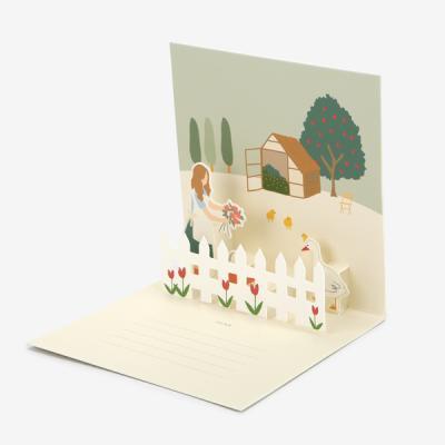 팝업 카드 - 11 Happy place