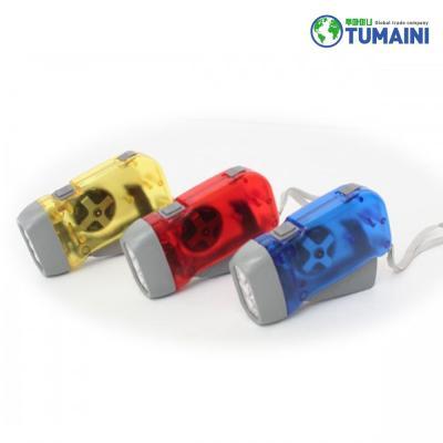 자가발전 비상용 휴대용 LED 미니 랜턴 후레쉬 라이트