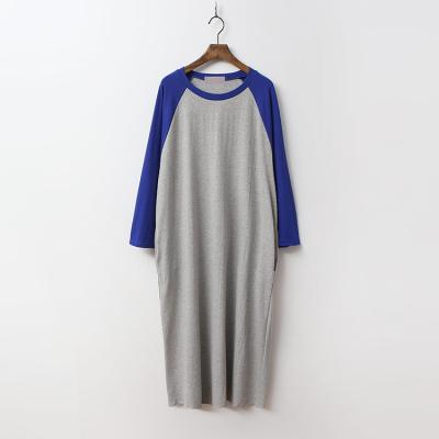 Cotton Baseball Long Dress