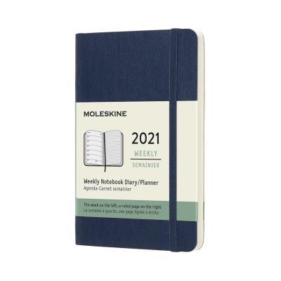 몰스킨 2021위클리/사파이어블루 소프트 P