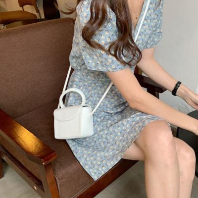 슬램 여성 패션 사각 가죽 마이크로 크로스백