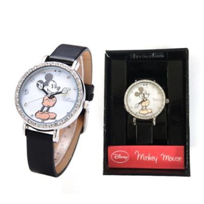 [디즈니] 미키 가죽 손목시계 (MK1223)