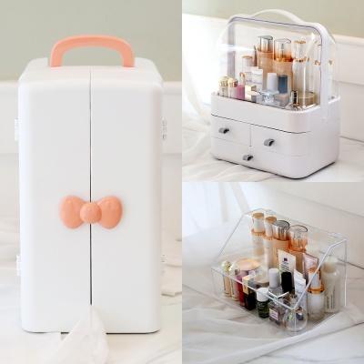 [지음]깔끔,세련된 화장품수납함 메이크업박스