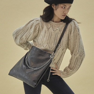 [펀프롬펀]Winona 2way shoulder bag (Pearl Black)