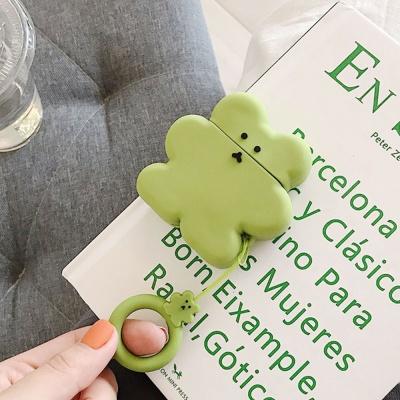 에어팟프로케이스 3세대 곰 쿠키 실리콘 168 그린_PRO