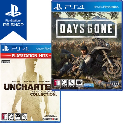 PS4 데이즈곤 DAYS GONE + 언차티드 콜렉션 (더블팩)