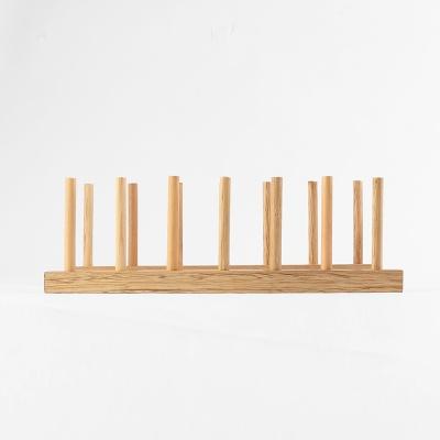 DIY 원목 접시꽂이(6열)
