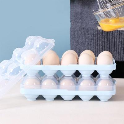 깨지지않는 휴대용 에그홀더 캠핑 야외 달걀보관함