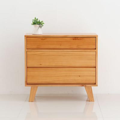[채우리] 잎새 소나무 협탁 600