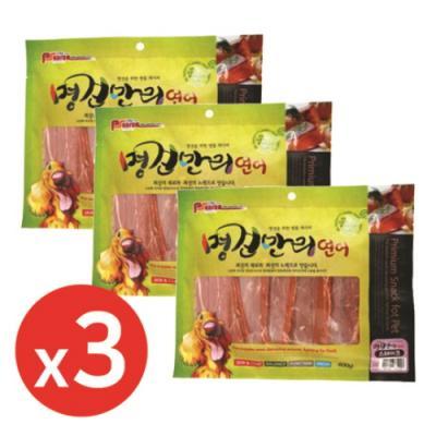 명견만리400g 연어스테이크 x3개 강아지간식