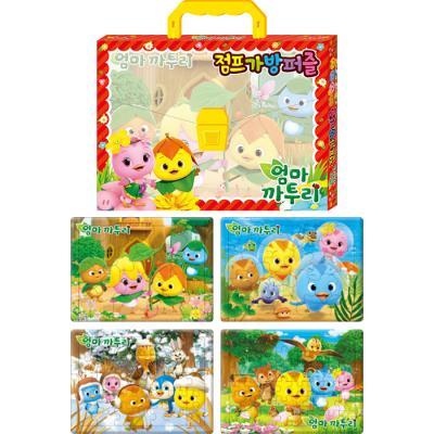 15 24 30 42조각 판퍼즐 - 엄마 까투리 2 (4종)
