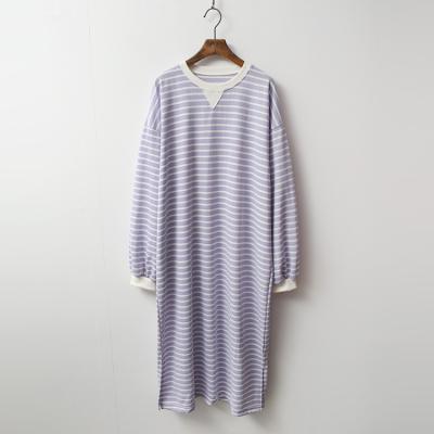 Color Stripe Long Dress
