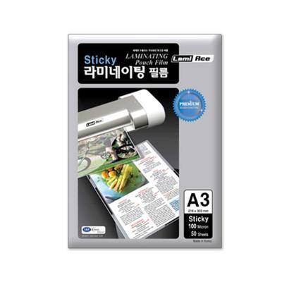 라미에이스 STICKY 코팅필름 100MIC A3(50매)