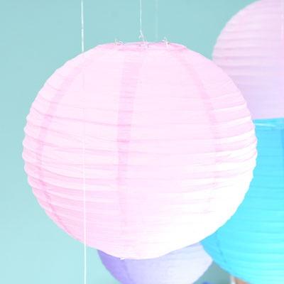 종이등 모빌장식 30CM [핑크]