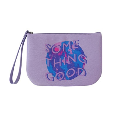 HALF MOON POUCH VIOLET