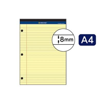 [브랜빌] 3공리갈패드A4 노랑 70매 [권/1] 397410